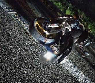 Tragiczny wypadek motocyklisty na Wiślance w Bąkowie. Nie żyje 40-latek z Tychów