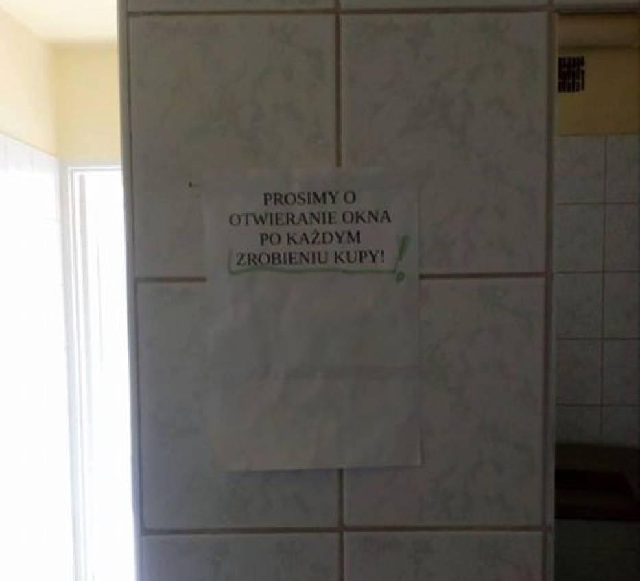 """""""Oto co dziś zobaczyłam w Drugim Urzedzie Skarbowym w Katowicach - toaleta na 5 piętrze"""""""