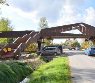 Kładka w Busku - projekt słynnych architektów prawie gotowa. Ale efekt! [WIDEO, FOTO]