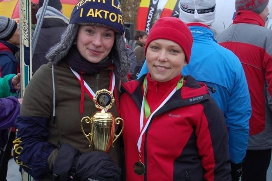 Anna Golonka i Monika Bisek-Grąz