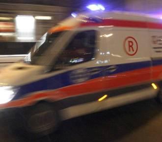Nocny wypadek w Końskich. Pięć osób trafiło do szpitala!