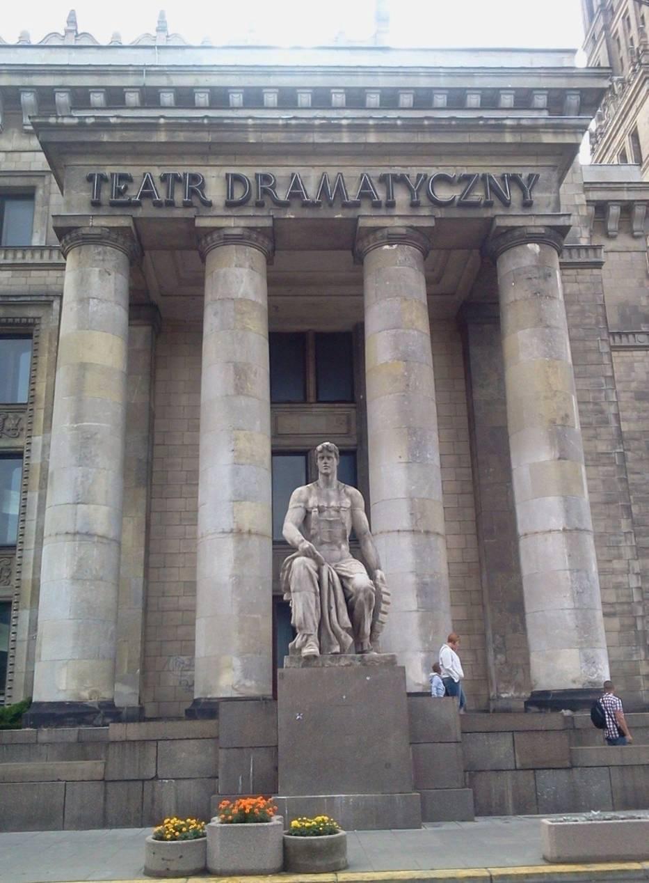 Jednym z teatrów biorących udział w projekcie jest warszawski Teatr Dramatyczny