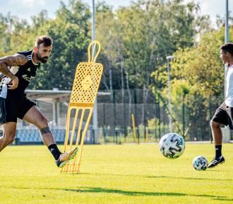 Ełkaesiacy są zdrowi i trenują przed meczem ze Śląskiem