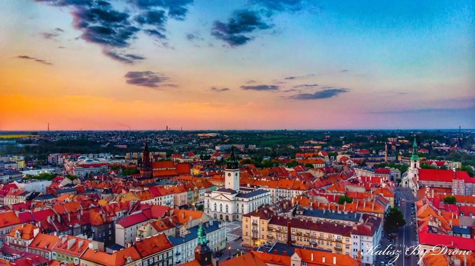 Kalisz: Zobaczcie wyjątkowe widoki miasta z lotu ptaka