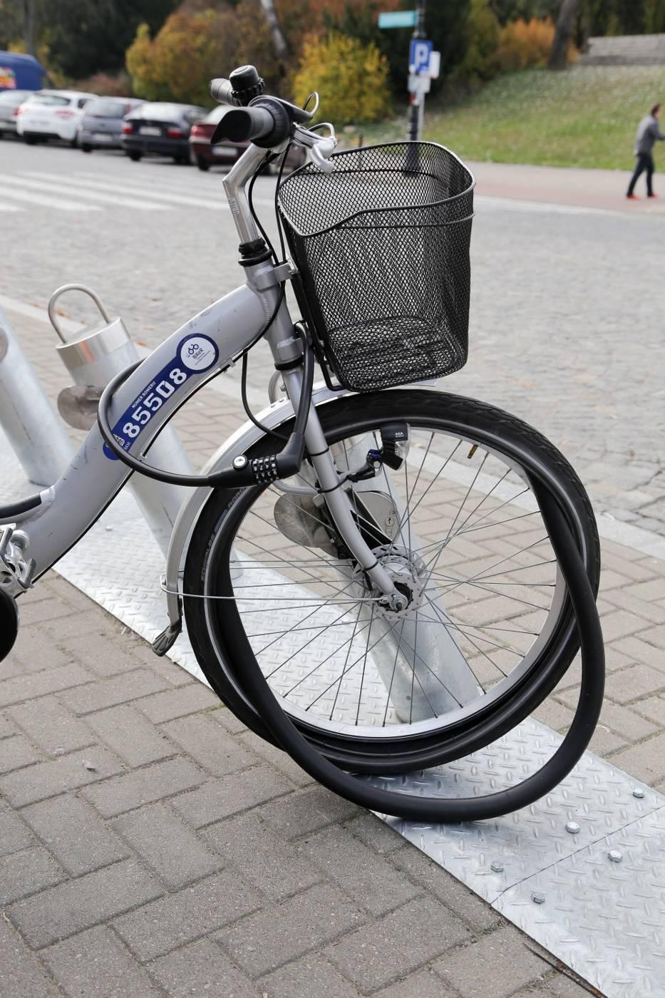 Siódmym systemem rowerów publicznych...