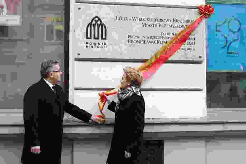 Prezydent Komorowski w Łodzi