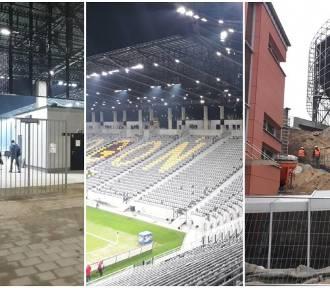 Stadion Pogoni: ruszyły prace rozbiórkowe za trybuną północną