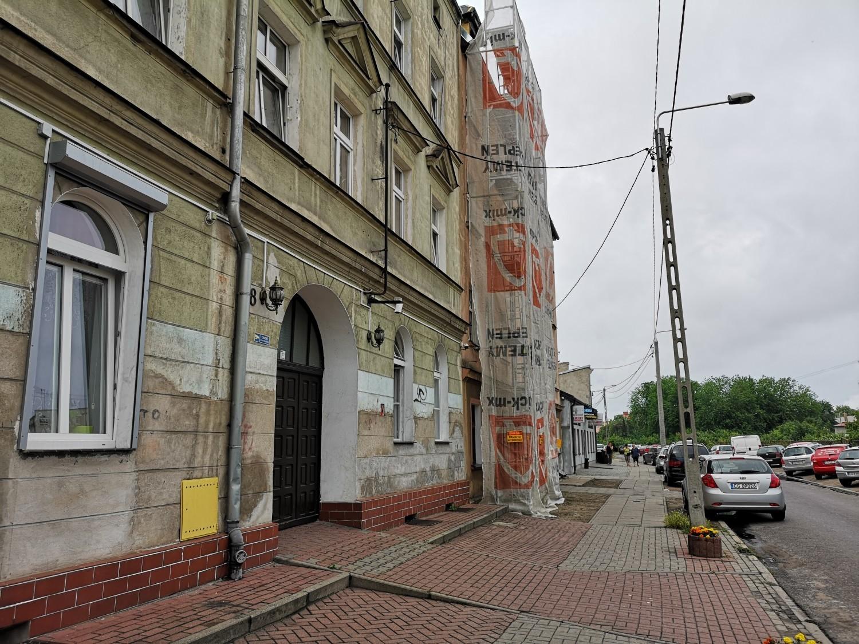 Śmiertelny wypadek na budowie w Grudziądzu [zdjęcia]