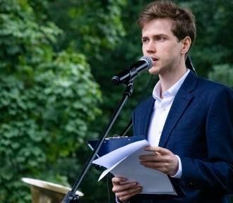 Aktor Marcin Sztendel wystąpił w widowisku historyczno-artystycznym w Wieluniu