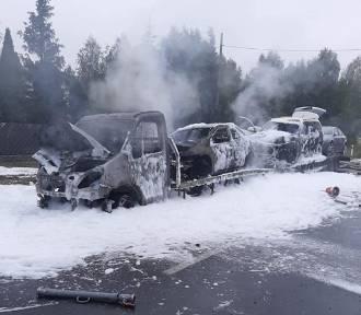 Powiat bełchatowski: Dwa razy interweniowali w nocy strażacy z Zelowa