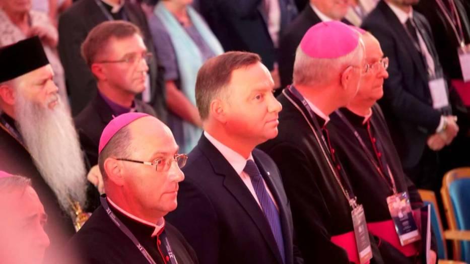 Prezydent Polski Andrzej Duda przemawia w Gnieźnie. Zobacz relację [OBEJRZYJ NA ŻYWO]