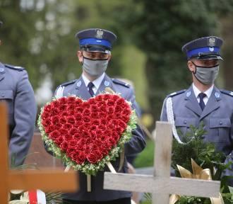 Pogrzeb policjanta Michała Kędzierskiego. 43-latek zginął tragicznie z rąk przestępcy