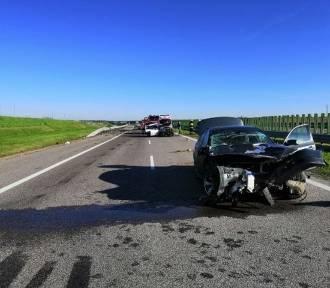 Wypadek na autostradzie A4 pod Jarosławiem [FOTO]