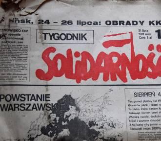 """40 lat Porozumień Sierpniowych. Unikaty solidarnościowe """"Do użytku wewnętrznego"""""""