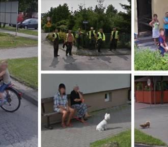 Pakościanie uchwyceni przez kamerę Google Street View