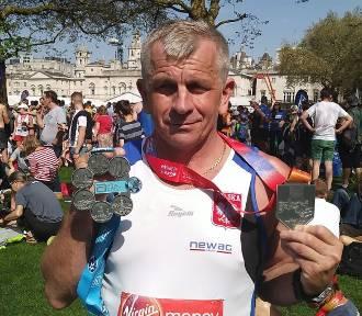 Marian Ryżak zdobył Koronę Maratonów Świata - World Marathon Major