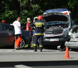 Poważny wypadek na obwodnicy w Gdańsku