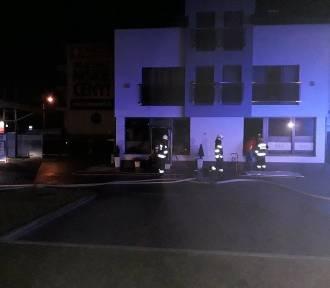 Pożar domu w Wadowicach. Na piętrze spali ludzie [ZDJĘCIA]