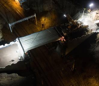 Jak przebiega przebudowa wiaduktu na ul. Mariackiej? Zobacz