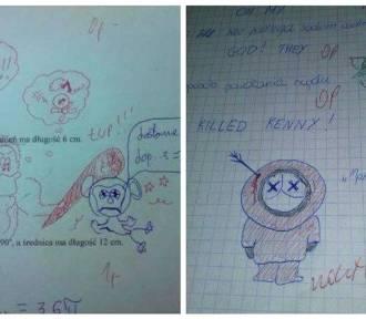 Humor z zeszytów  szkolnych. Nauczyciele to czasami mają wesoło!