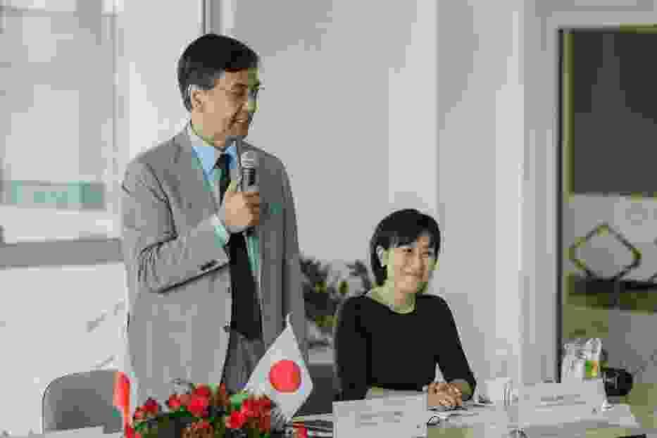 Wizyta ambasadora Japonii w Polsce w Wałbrzyskiej Specjalnej Strefie Ekonomicznej Invest-Park