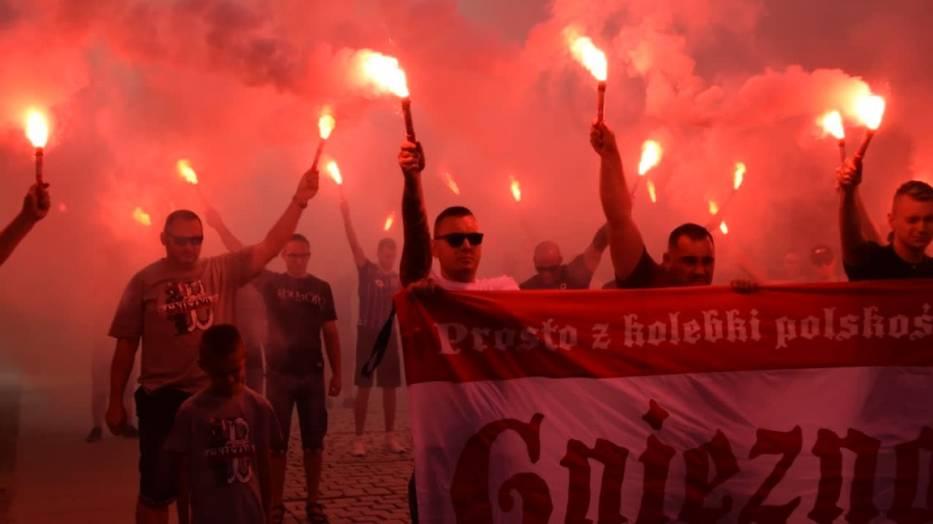 Powstanie Warszawskie: gnieźnianie upamiętnili 76. rocznicę