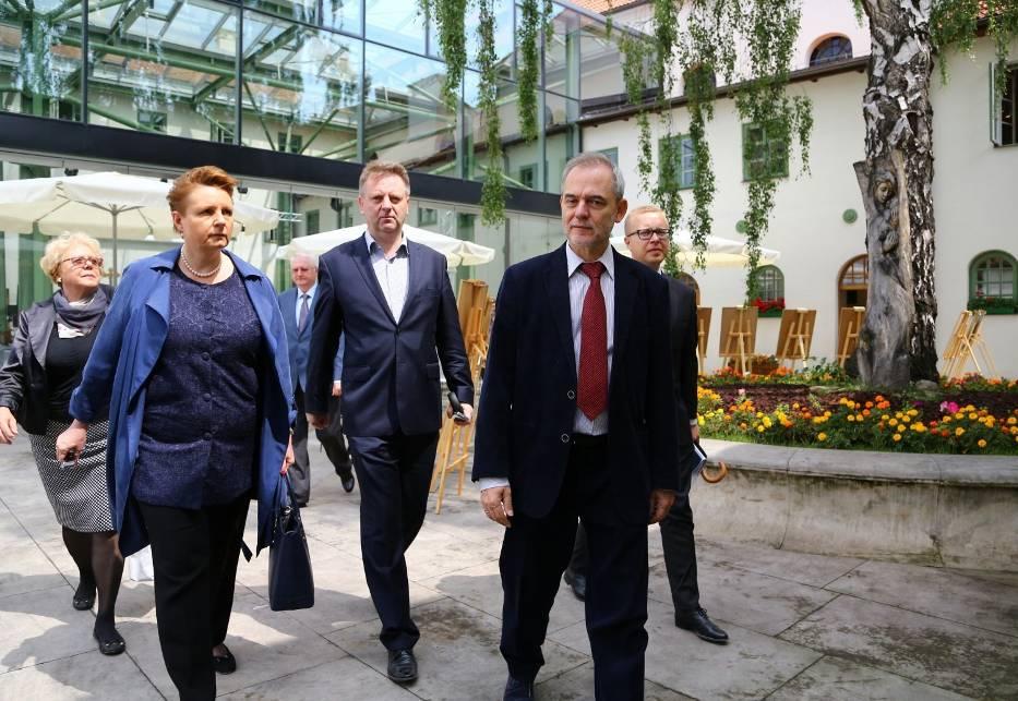 ministrowie w Piotrkowie