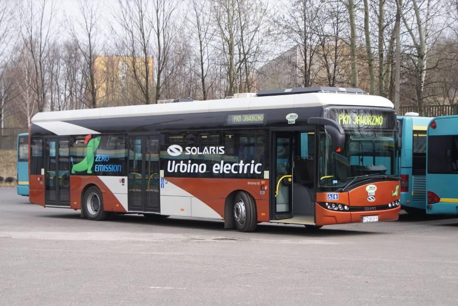 Elektrobus Jaworzno Pkm Kupiło Pierwszy Elektrobus Pojawi Się W