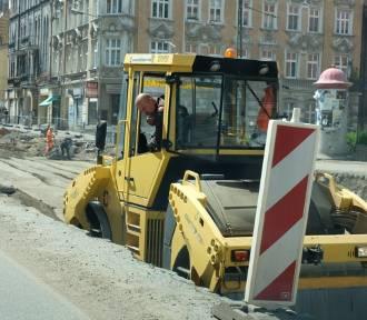 Remont ulicy 3 Maja i Hajduckiej w Chorzowie. Nowe zdjęcia