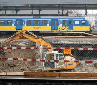 Wyburzanie tunelu pod Dworcem Głównym w Gdańsku [zdjęcia]