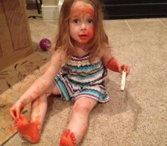 Oto, co się dzieje, gdy zostawiasz dzieci bez opieki [GALERIA]