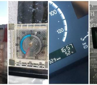 Upały w Szczecinie i regionie. Ile wskazują termometry? Nawet 50°C! Zdjęcia Internautów