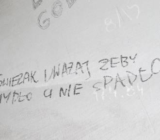 Zobacz, co więźniowie piszą na ścianach