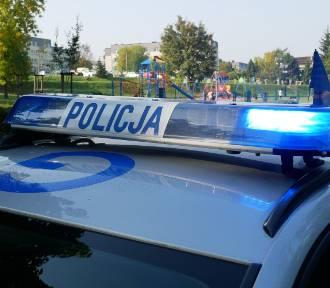 Kolizja na autostradzie A4 w Chrzanowie. Kierowca bmw jazdę zakończył na barierkach