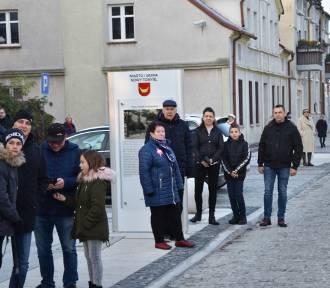Oficjalne otwarcie ulicy Piłsudskiego w Nowym Tomyślu
