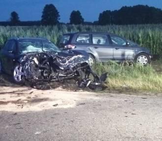 Wypadek we wsi Ruchocin - 6 osób rannych, dwie ciężko