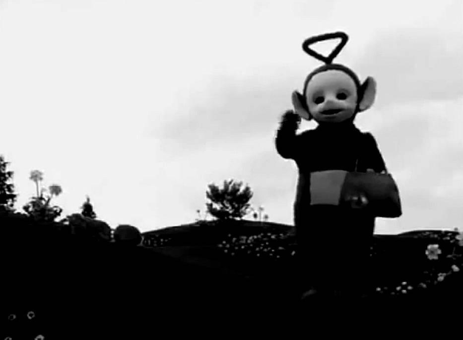 Widzieliście kiedyś czarno-białe Teletubisie? Możecie się zdziwić