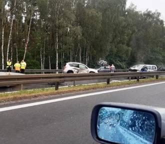 Wypadek na A6 w kierunku Świnoujścia. Zderzyło się pięć samochodów. ZDJĘCIA