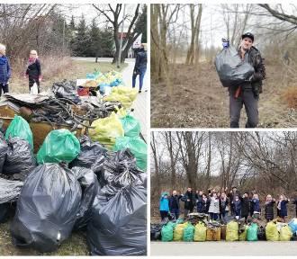 Wyzwanie #trashtagchallenge. Białostoczanie sprzątają śmieci
