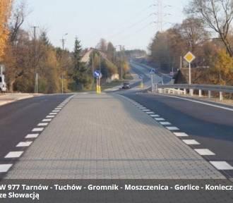 Gorlice. Diorama i remont drogi do Tarnowa w banku projektów