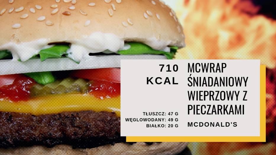 McWrap Śniadaniowy - 710 kcal