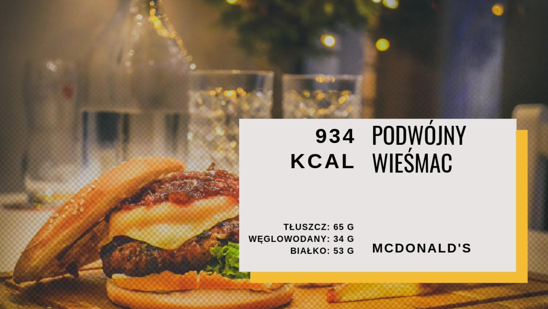 Podwójny WieśMac - 934 kcal