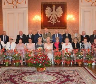 Złote gody 2021 w Żaganiu! Cudowne pary odnowiły przysięgę małżeńską w pałacu!