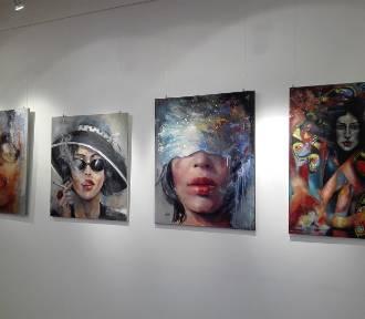 Wystawa malarstwa w Galerii Labirynt PSM L-M Piła