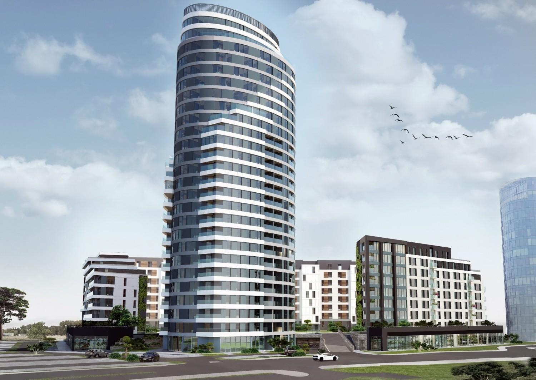 Capital Towers jest jednym z najbardziej okazałych kompleksów mieszkalnych w województwie