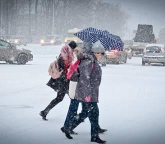 Oleśnica. Meteorolodzy zapowiadają intensywne opady śniegu