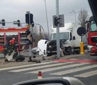 Groźny wypadek na trasie Górna!