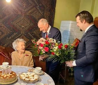 Najstarsza mieszkanka Krakowa skończyła 109 lat!
