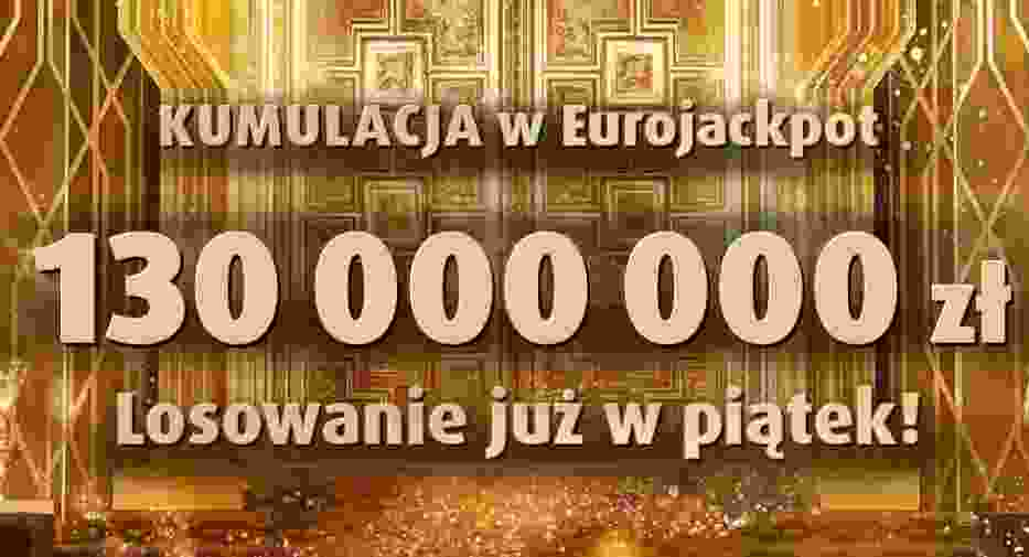 Eurojackpot Lotto wyniki 13
