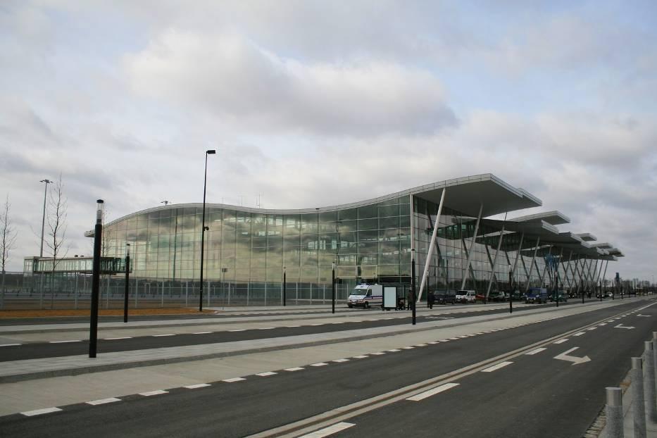 Nowy terminal na lotnisku we Wrocławiu